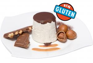 MOUSSE DE CHOCOLATE BLANCO CON AVELLANAS